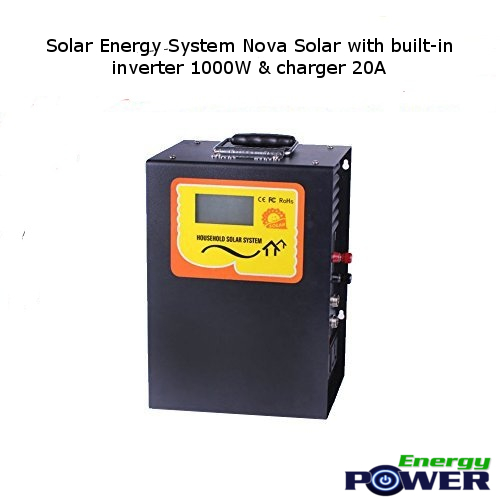 Solar Energy System Nova Solar with built-in inverter 1000W