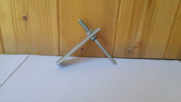 Inox Κοχλίας βίδα τοποθέτησης σε στέγη βιομηχανικού τύπου K2 RF HB ST
