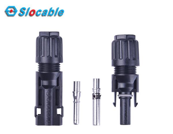 Ακροδέκτης φωτοβολταϊκών καλωδίων MC4 Αρσενικό 4mm2