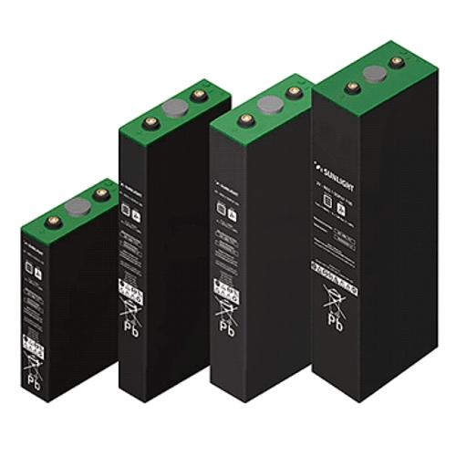 Μπαταρία Φωτοβολταϊκών βαθειάς εκφόρτισης κλειστού τύπου Gel SunLight 2V RES8 SOPzV 1360Ah/C120