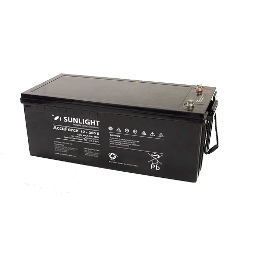 SunLight AccuForce 12V - 200S Ah