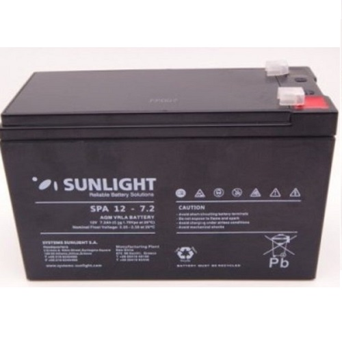 SunLight SP7.2Ah / 12V AGM