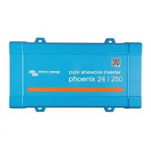 Μετατροπέας καθαρού ημιτόνου (Inverter) Victron Energy Phoenix 24V / 250VA / 230V