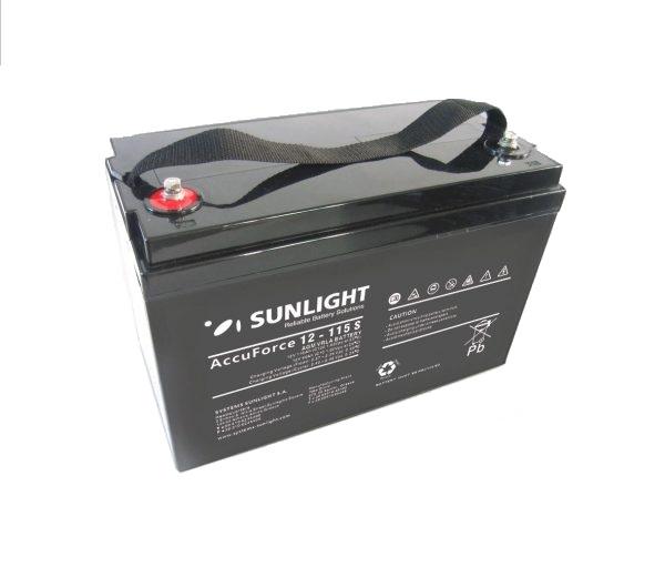 Μπαταρία Φωτοβολταϊκών  SunLight AccuForce 12V – 115s Ah AGM κλειστού τύπου