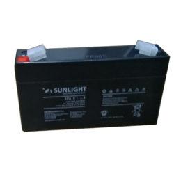 Μπαταρία Sun Light SPA 6-1.3 Ah AGM κλειστού τύπου