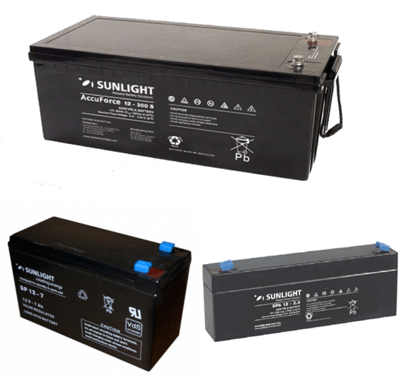 Sealed Batteries AGM-12V GU