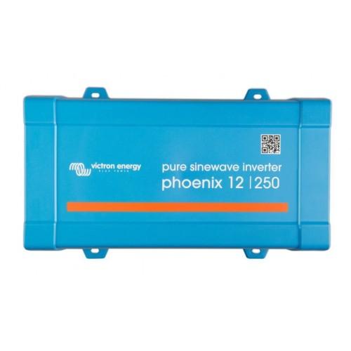 Μετατροπέας καθαρού ημιτόνου (Inverter) Victron Energy Phoenix 12V / 250VA / 230V