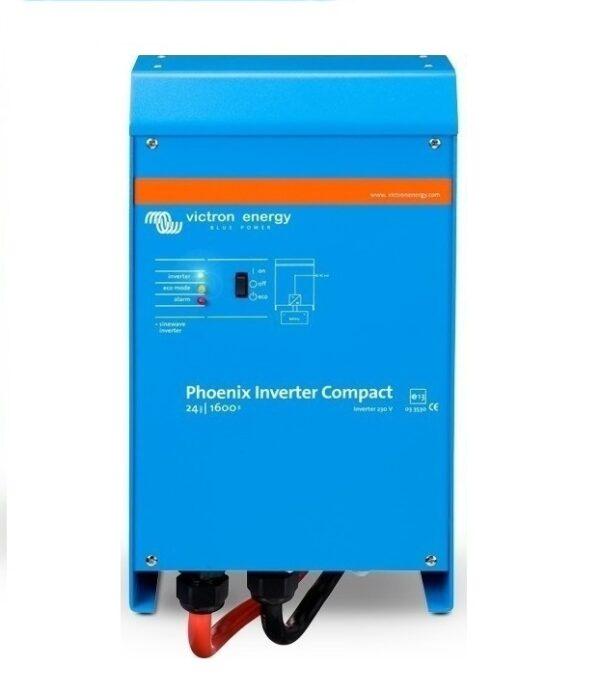 Μετατροπέας καθαρού ημιτόνου (Inverter) Victron Energy Phoenix C 24V / 1600VA / 230V