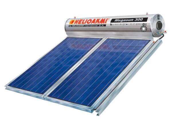 Helioakmi Megasun Glass 300/4.20m² Eπιλεκτικός Συλλέκτης Tιτανίου Τριπλής Ενέργειας