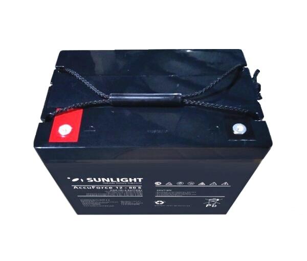 Μπαταρία Φωτοβολταϊκών SunLight AccuForce 80S 12V – 80Ah AGM κλειστού τύπου