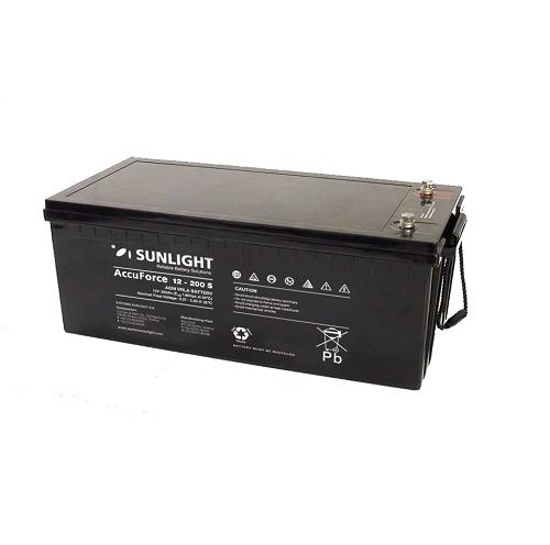 Μπαταρία Φωτοβολταϊκών SunLight AccuForce 12V - 230S Ah  AGM κλειστού τύπου