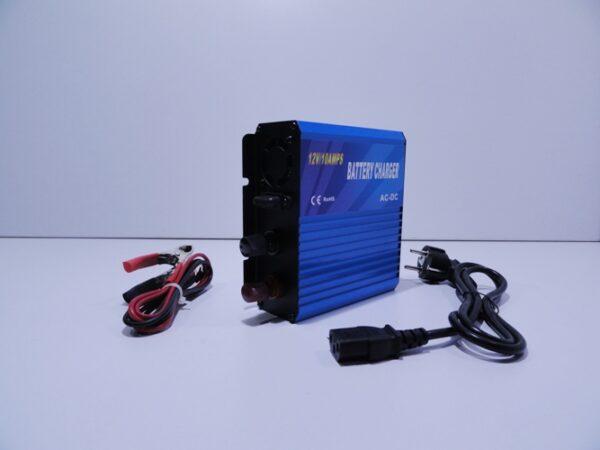 Παλμικός φορτιστής μπαταρίας Tianyu 10Α - 12V με επιλογή τύπου συσσωρευτή