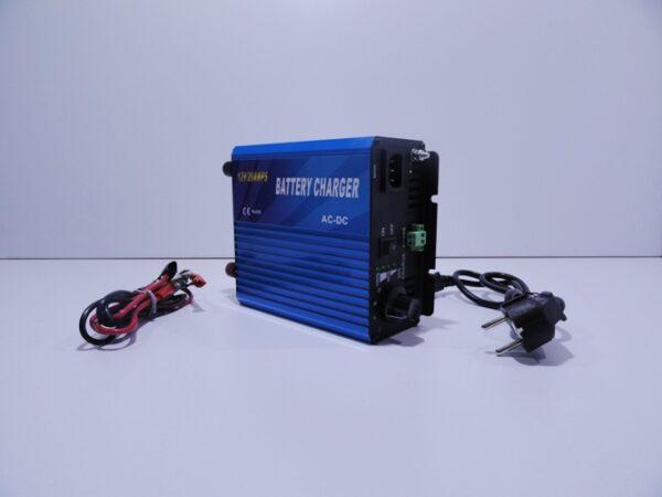 Παλμικός φορτιστής μπαταρίας Tianyu 20Α – 12V με επιλογή τύπου συσσωρευτή