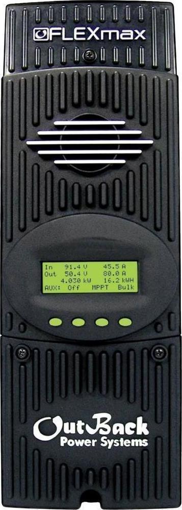 Ρυθμιστής φόρτισης φωτοβολταϊκών MPPT OUTBACK POWER FlexMax 60Α - 150VDC