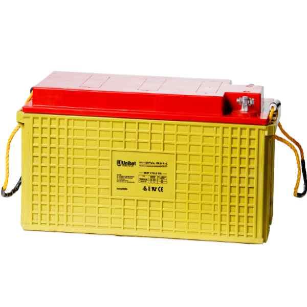 Μπαταρία Βαθειάς Εκφόρτισης Unibat GEL 12-150G C120 195Ah 12V