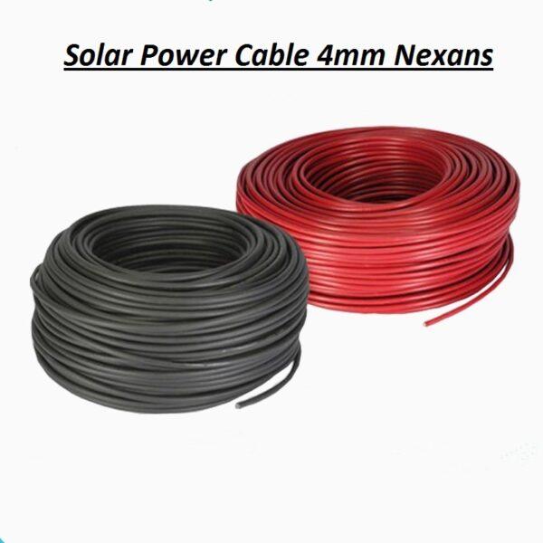 Καλώδιο τροφοδοσίας φωτοβολταϊκού τύπου solar cable 4mm κόκκινο