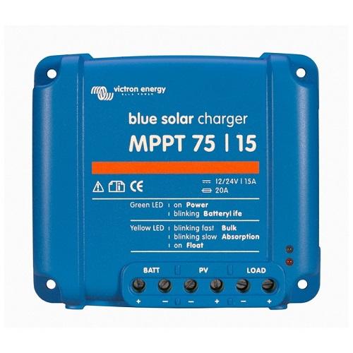 Ρυθμιστής φόρτισης φωτοβολταϊκών MPPT Victron Energy BlueSolar  75/15 15A