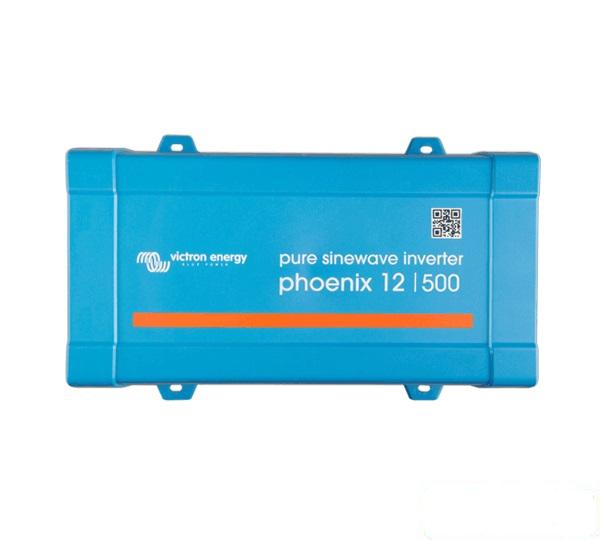 Μετατροπέας καθαρού ημιτόνου (Inverter) Victron Energy Phoenix 12V / 500VA / 230V