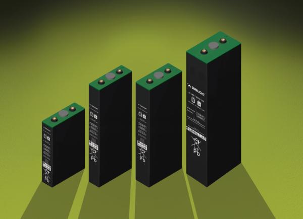 Μπαταρία Φωτοβολταϊκών βαθειάς εκφόρτισης κλειστού τύπου Gel SunLight 2V RES2 SOPzV 150Ah/C120