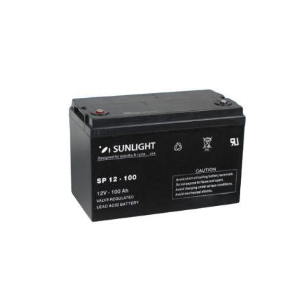 Μπαταρία Φωτοβολταϊκών  SunLight AccuForce 12V - 100Ah AGM κλειστού τύπου