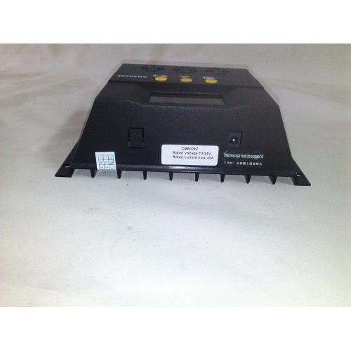 Ρυθμιστής φόρτισης PWM με οθόνη 40A 12V/24V  5024Z
