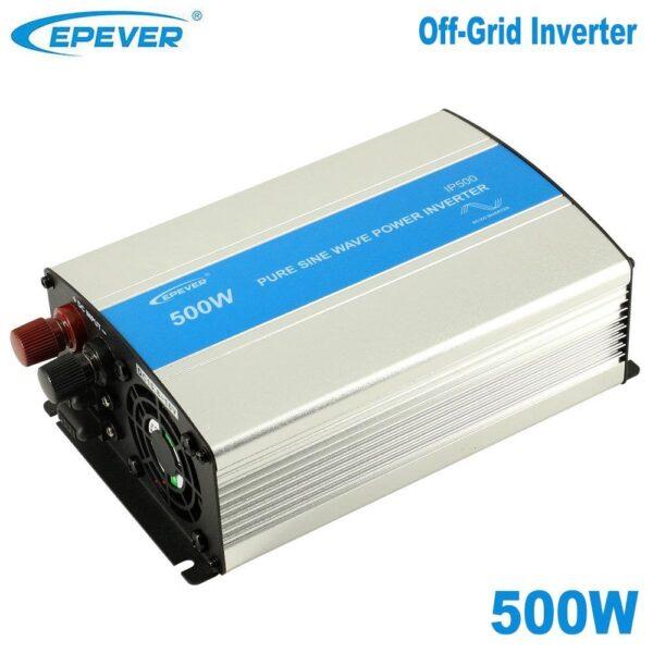 Μετατροπέας καθαρού ημιτόνου (Inverter) Epever IP500 - 12  12V/500W/230V