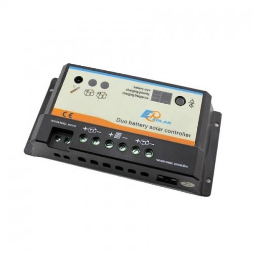 Ρυθμιστής φόρτισης φωτοβολταϊκών PWM Ep Solar EPIPDB - COM 20A