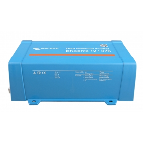 Μετατροπέας καθαρού ημιτόνου (Inverter) Victron Energy Phoenix 24V / 375VA VE.Direct