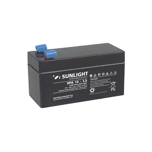 Μπαταρία SunLight SPA1.3Ah / 12V AGM κλειστού τύπου
