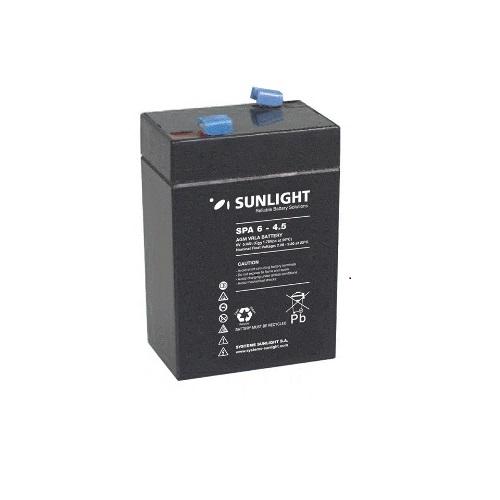 Μπαταρία Sun Light SP6-4.5Ah  AGM κλειστού τύπου