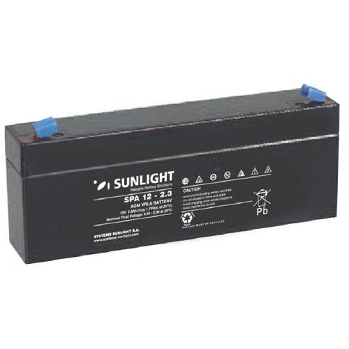 Μπαταρία SunLight SPA 12V 2.3Ah AGM κλειστού τύπου