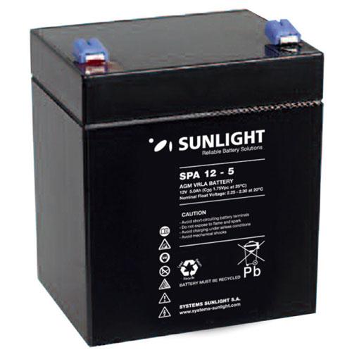 Μπαταρία SunLight SPA 5Ah / 12V  AGM κλειστού τύπου