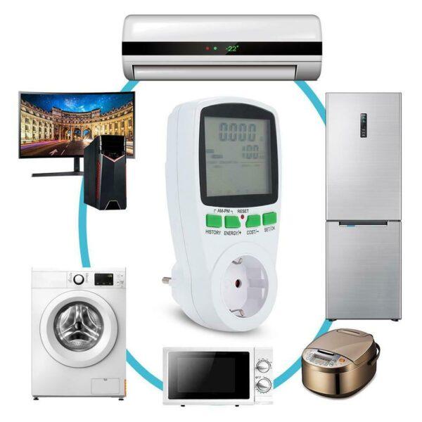 Ψηφιακός μετρητής κατανάλωσης 230V AC