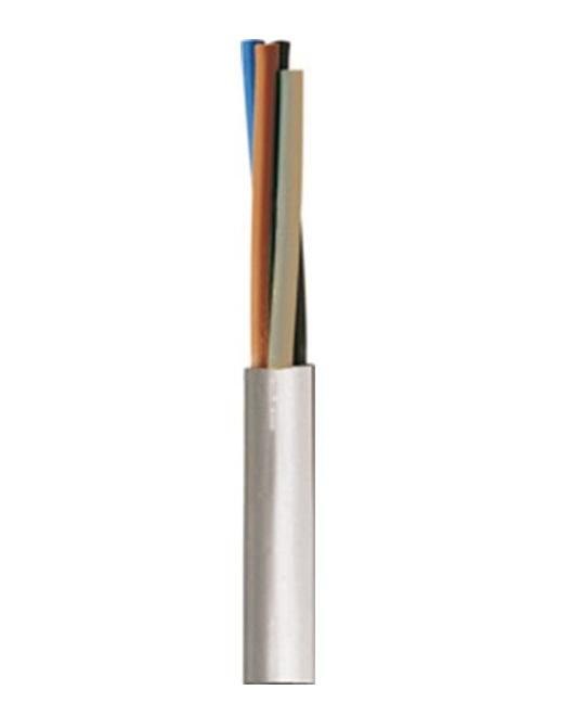Καλώδιο Εύκαμπτο NYMHY H05VV-F PVC 2X2,5mm² Λευκό
