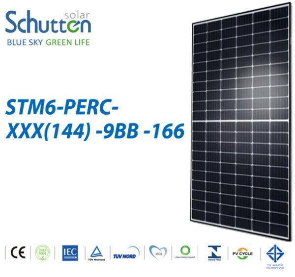 Φωτοβολταϊκό Πάνελ Schutten Solar STM6-PERC-XXX(144) 9BB  455W Μονοκρυσταλλικό